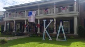 Our beautiful house on Bid Day!